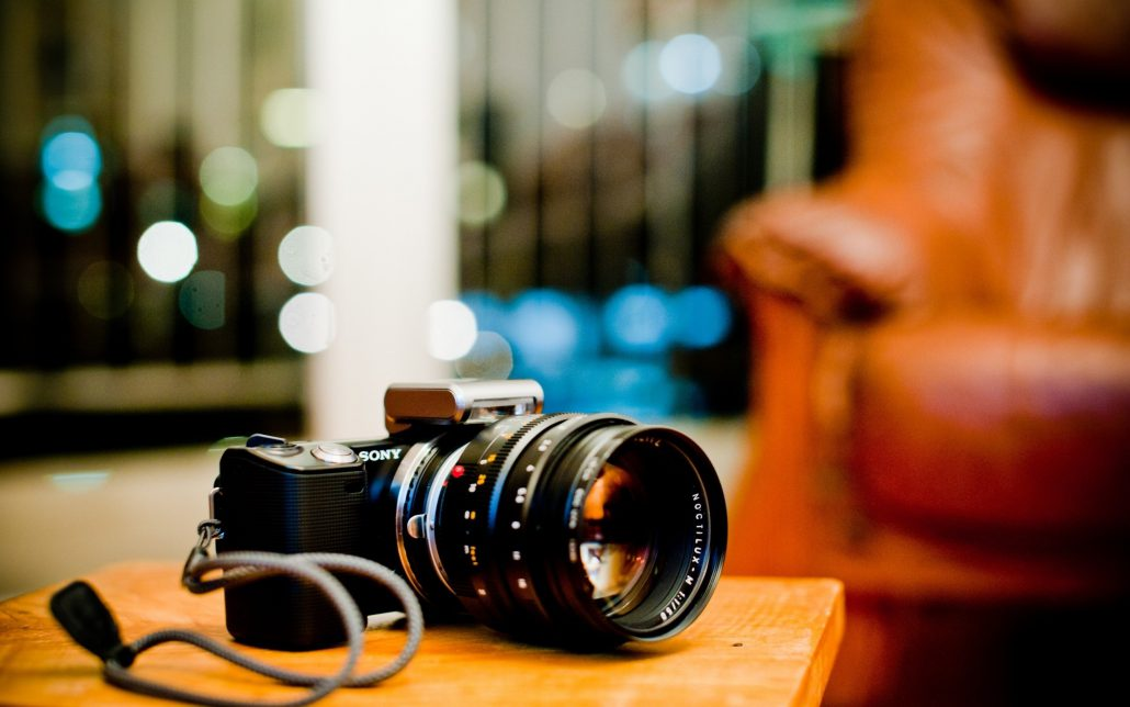 Camera Sony Dslr Big Lens Hi Tech Hd Wallpaper Shoot Photography